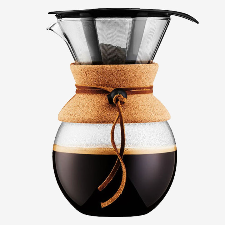 Bodum Pour Over 8 Cup + Metal Filtre - Taft Coffee