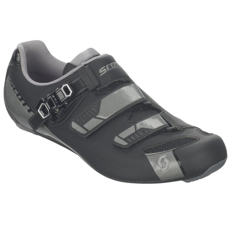 SCOTT Chaussures Road Pro matt black/gloss grey