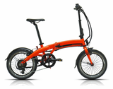 vélo pliant assistance électrique MEGAMO EXECUTIVE orange