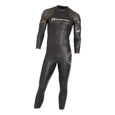 Combinaison triathlon Aquaman gold cell