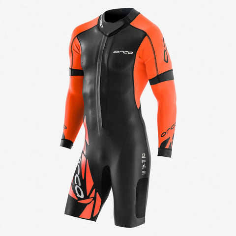 Combinaison swimrun Orca Core orange noir