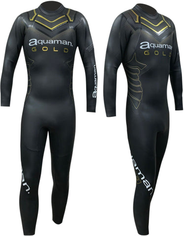 Combinaison triathlon Aquaman Gold Cell 2020