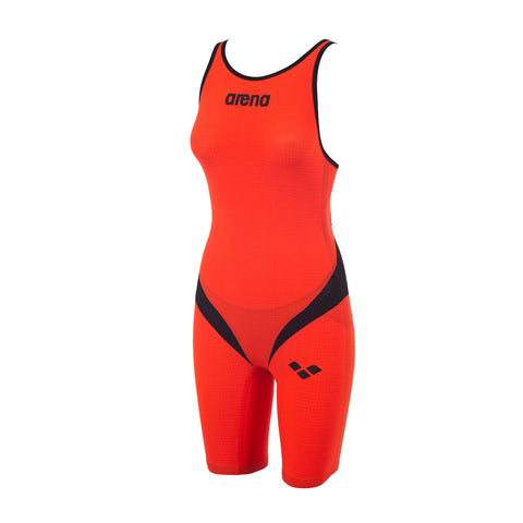 Combinaison Trifonction femme Arena fluo orange black