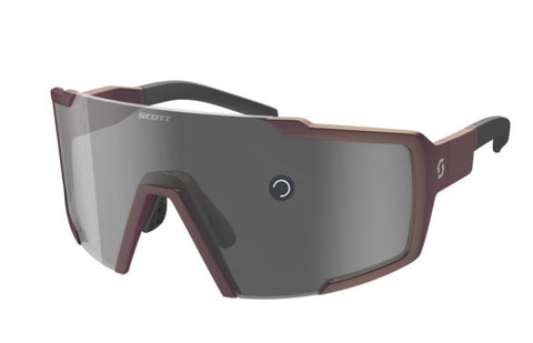 LUNETTES SCOTT SHIELD nitro purple / grey
