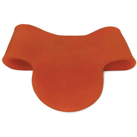 Protection cou Murino orange noir