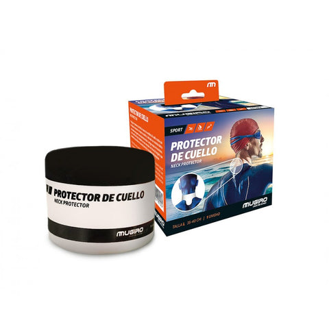 protection cou Mugiro noir orange