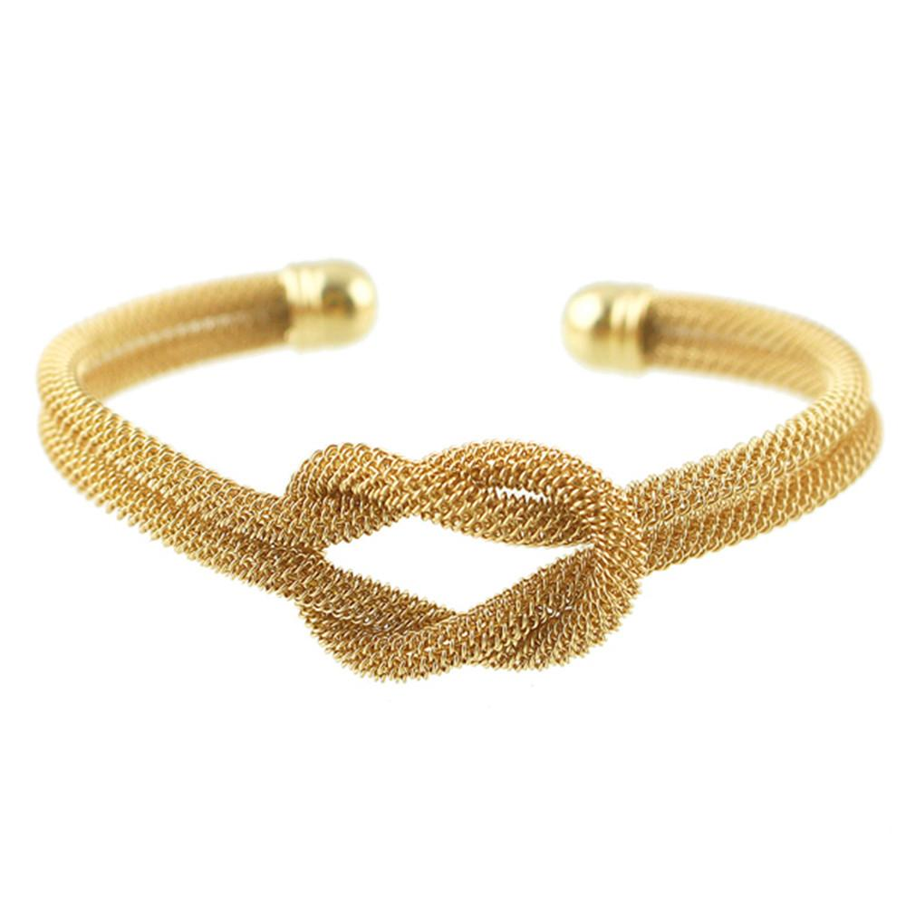gold products bangles rope golden brangle ani bangle infinity saf knot