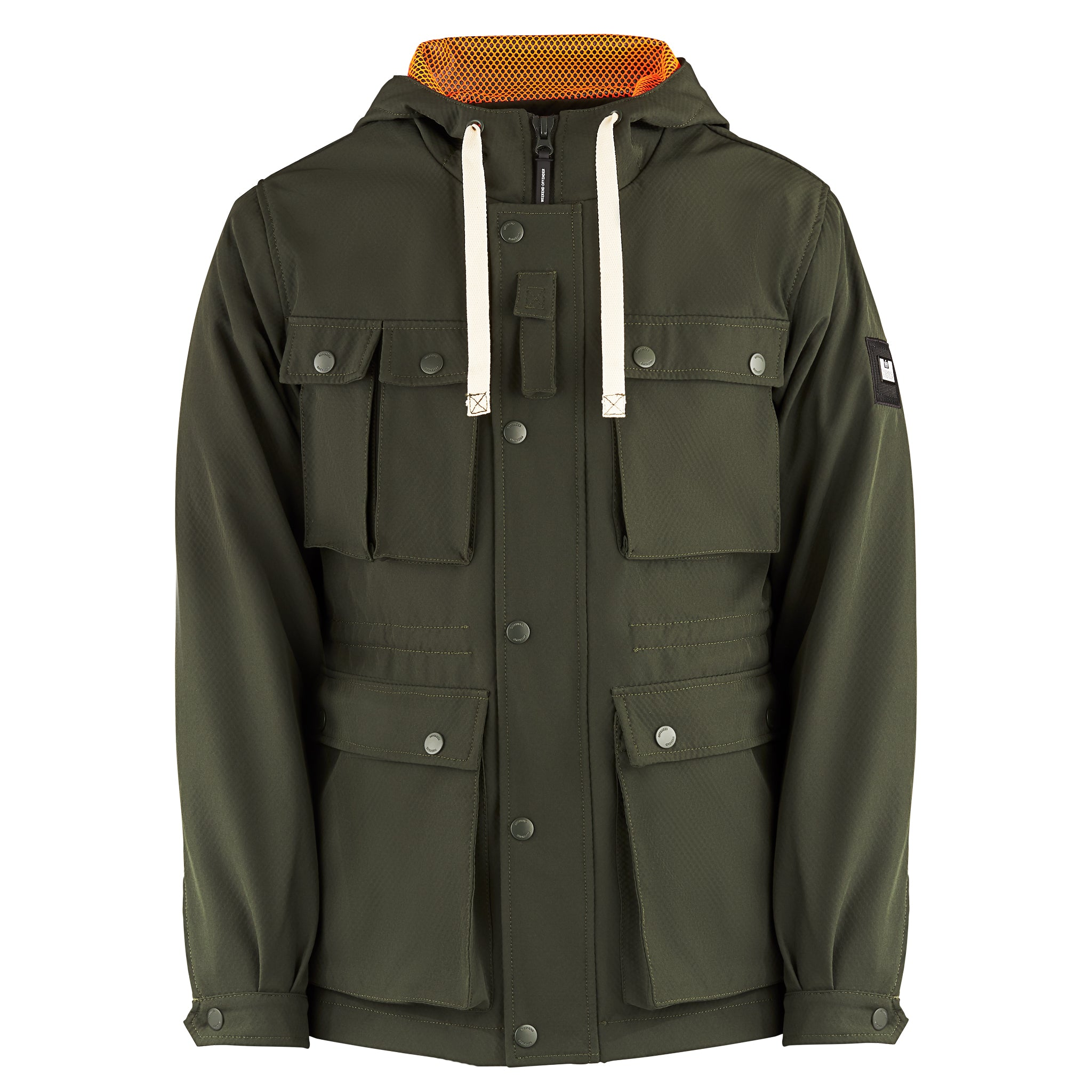 Solitaire Jacket Dark Green