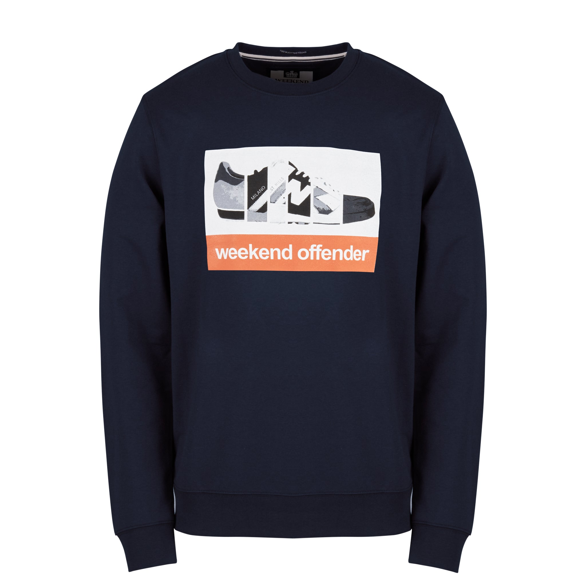 Trainerspotting Navy Sweatshirt