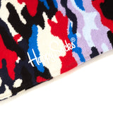 Happy Socks Multi Camo Bark Black
