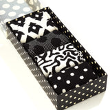 Happy Socks Big Dot Black/White Gift Box