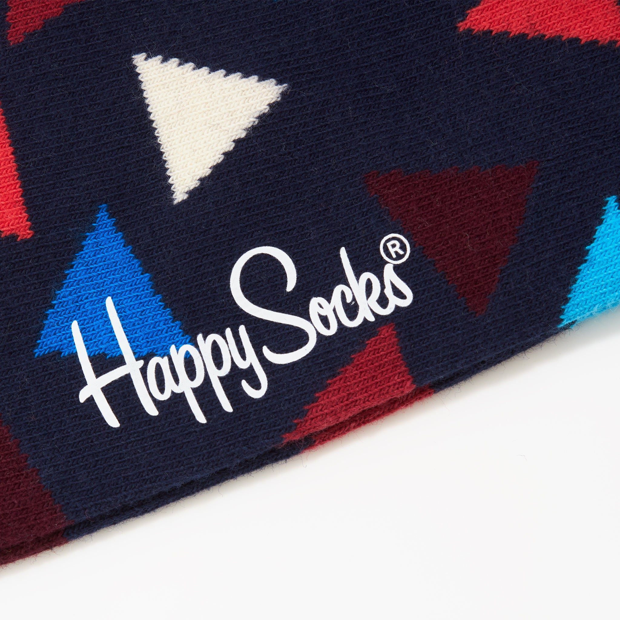 Happy Socks Multi Triangle Navy
