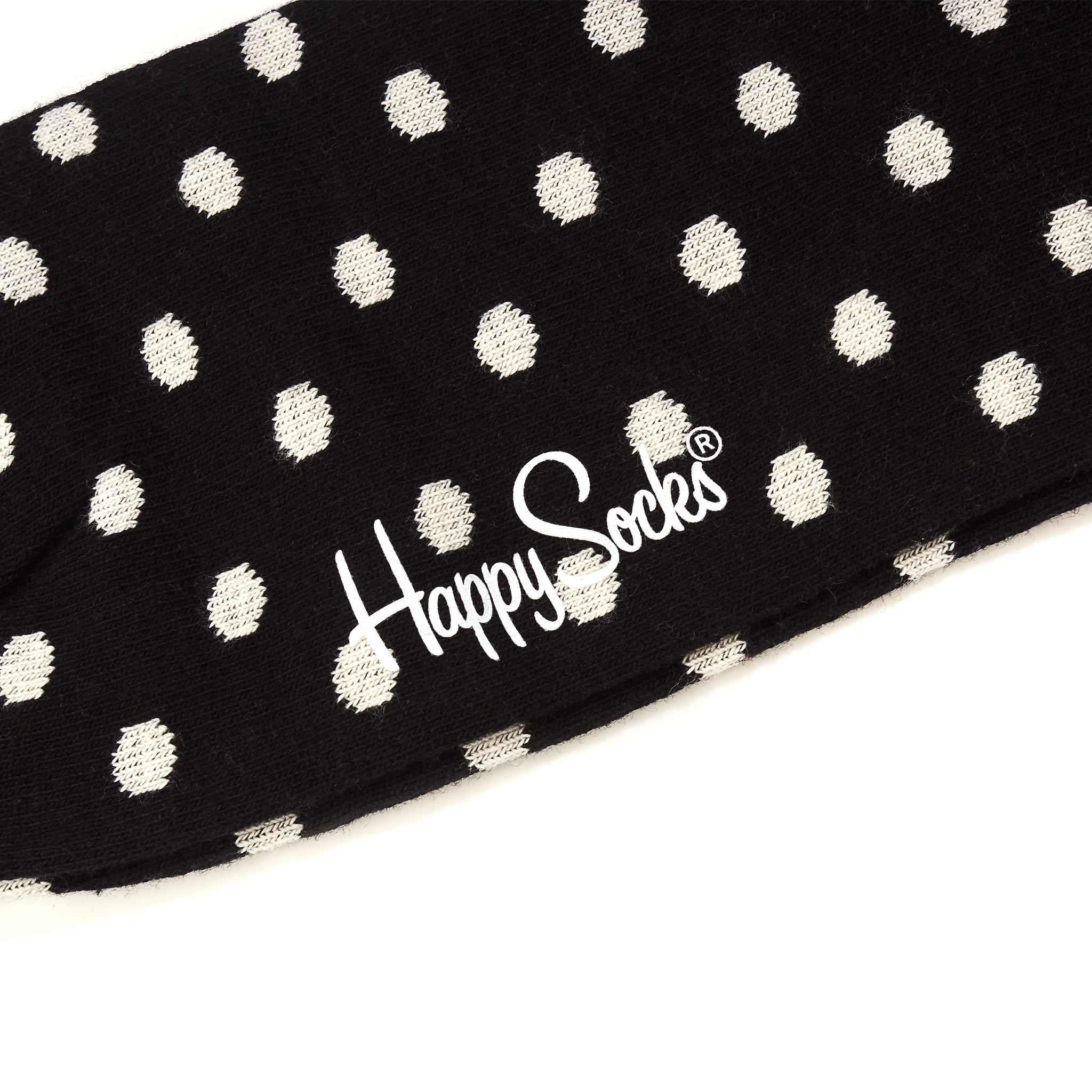 Happy Socks Small Dot Black/White