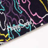 Happy Socks Electric Aqua/Pink/Yellow