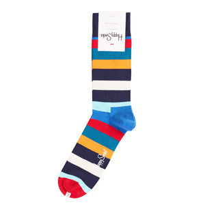 Happy Socks Blue Multi Stripe