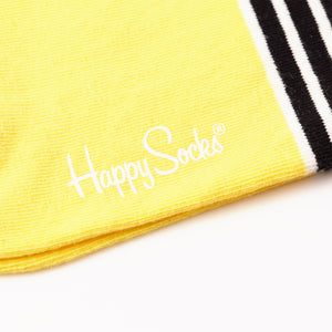 Happy Socks Stripe/Dot Black/Pink