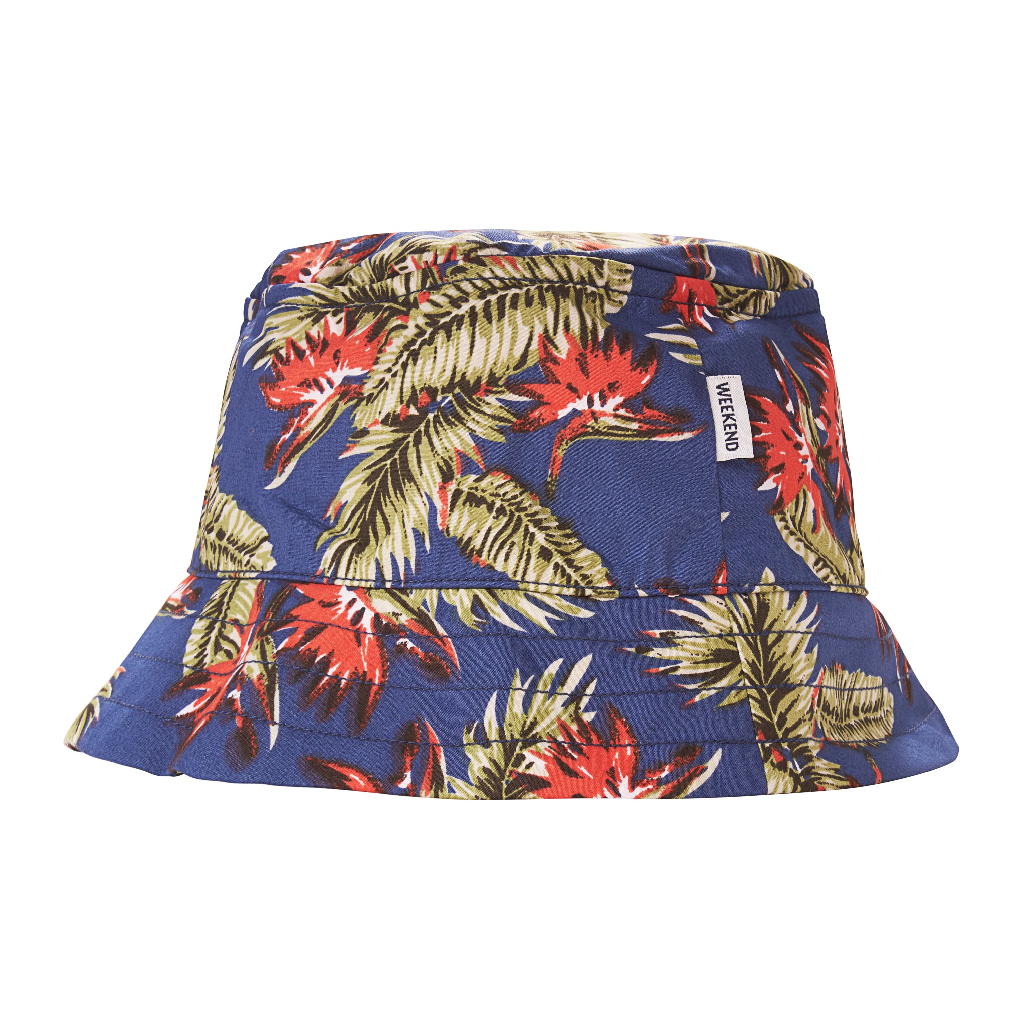 Sarasota Bucket Hat Navy/Tropical