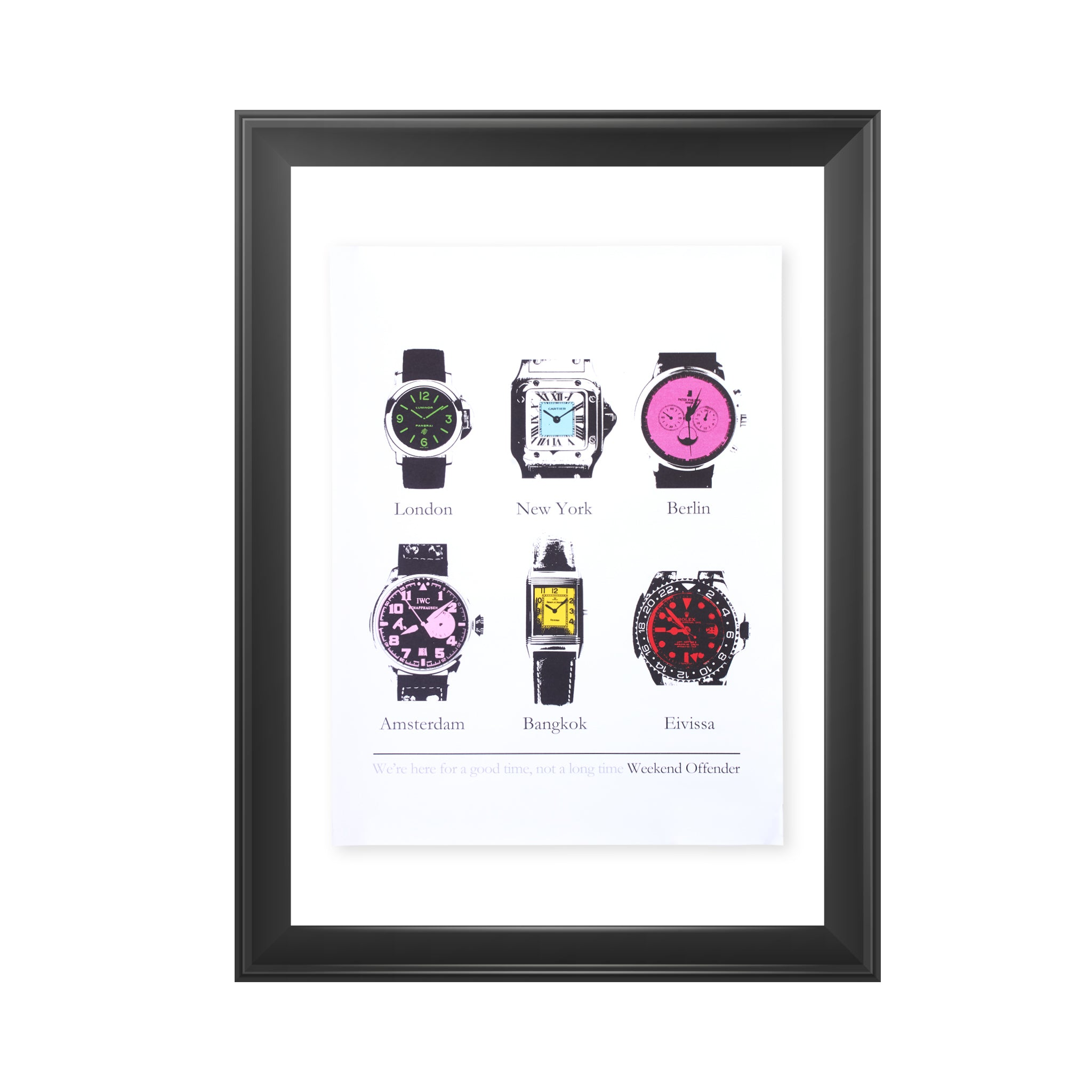 Art Print Watches