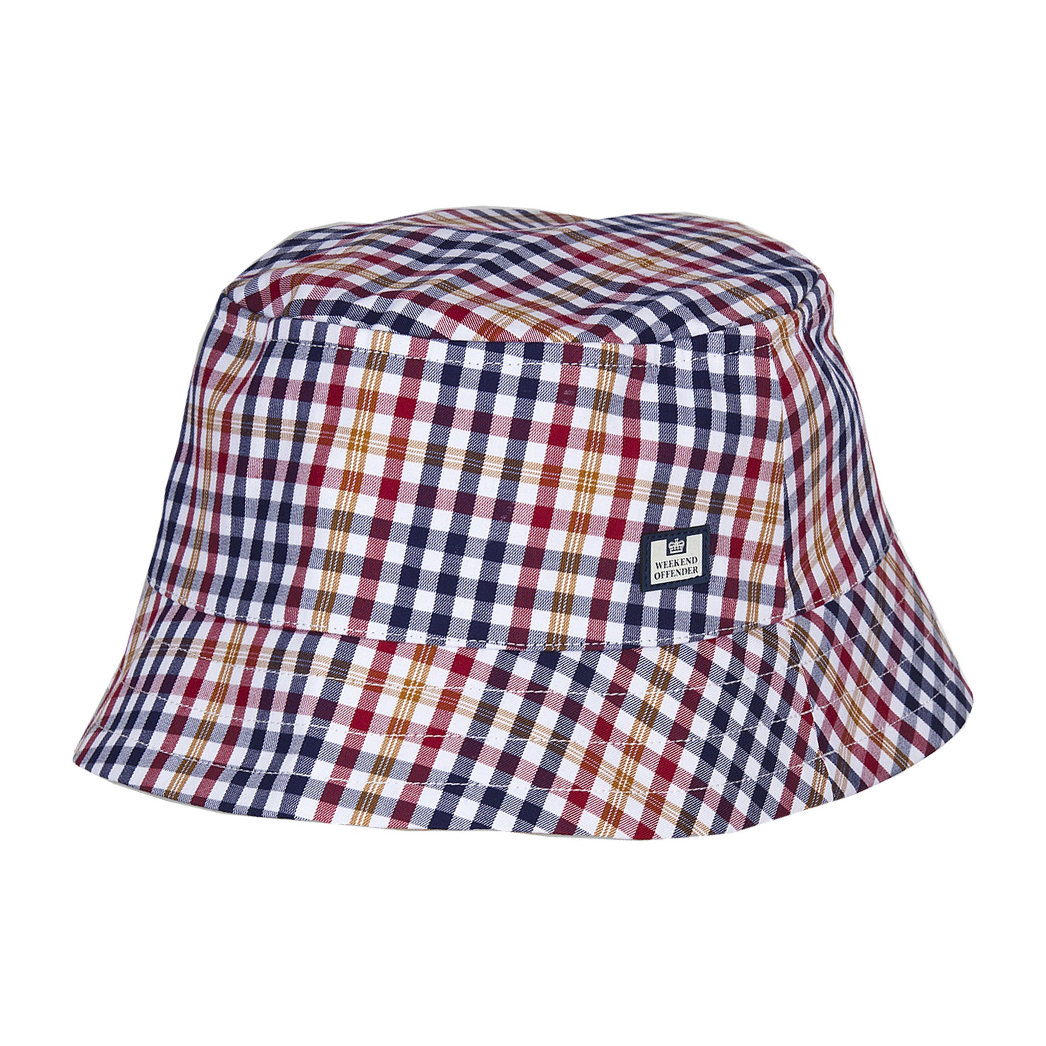 Nelson Check Bucket Hat