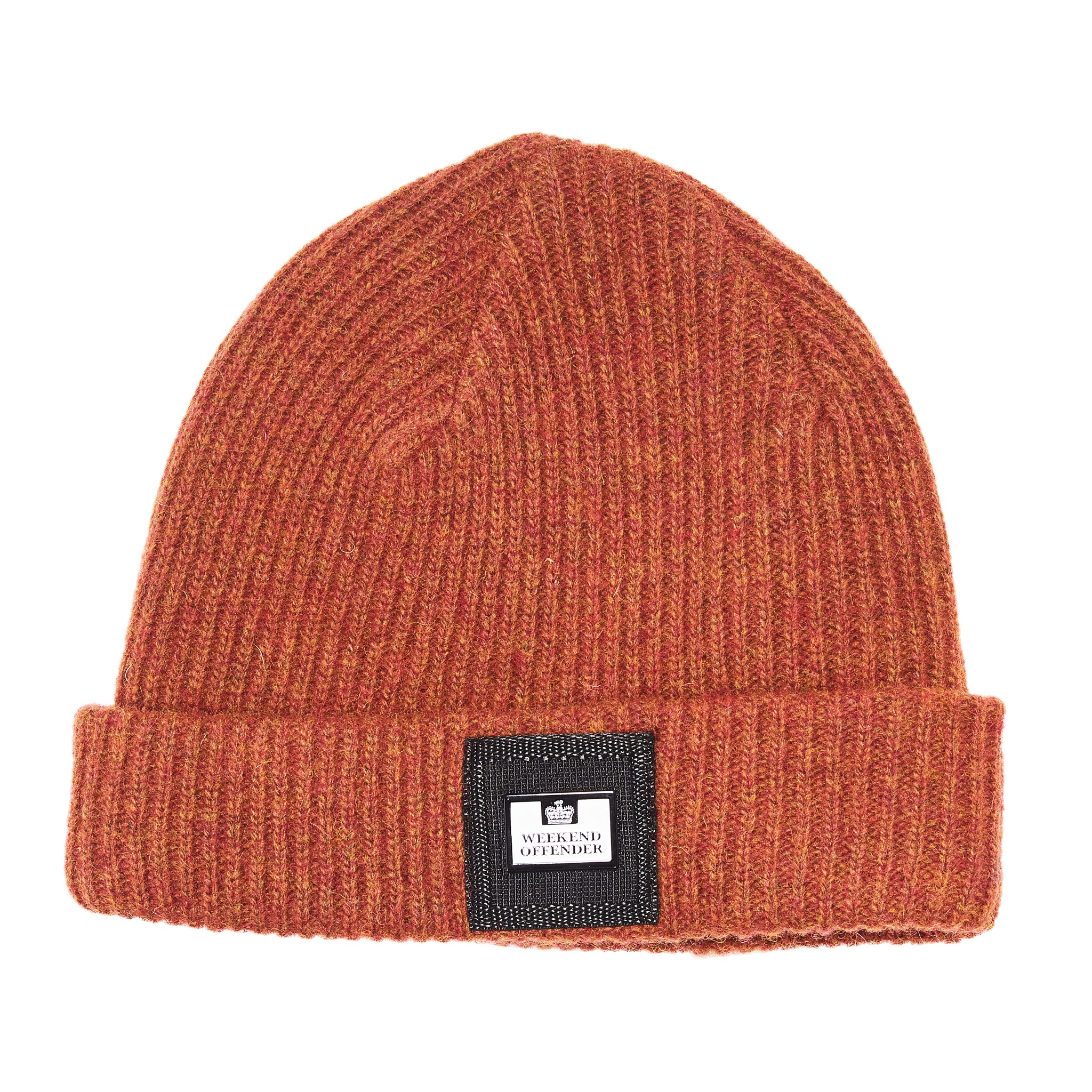 Stallone AW18 Rust Weekend Offender Beanie Hat