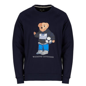 Prison Bear Sweat Navy