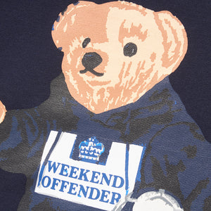Weekend Offender Navy Lightweight Jumper Prison Bear Sweat