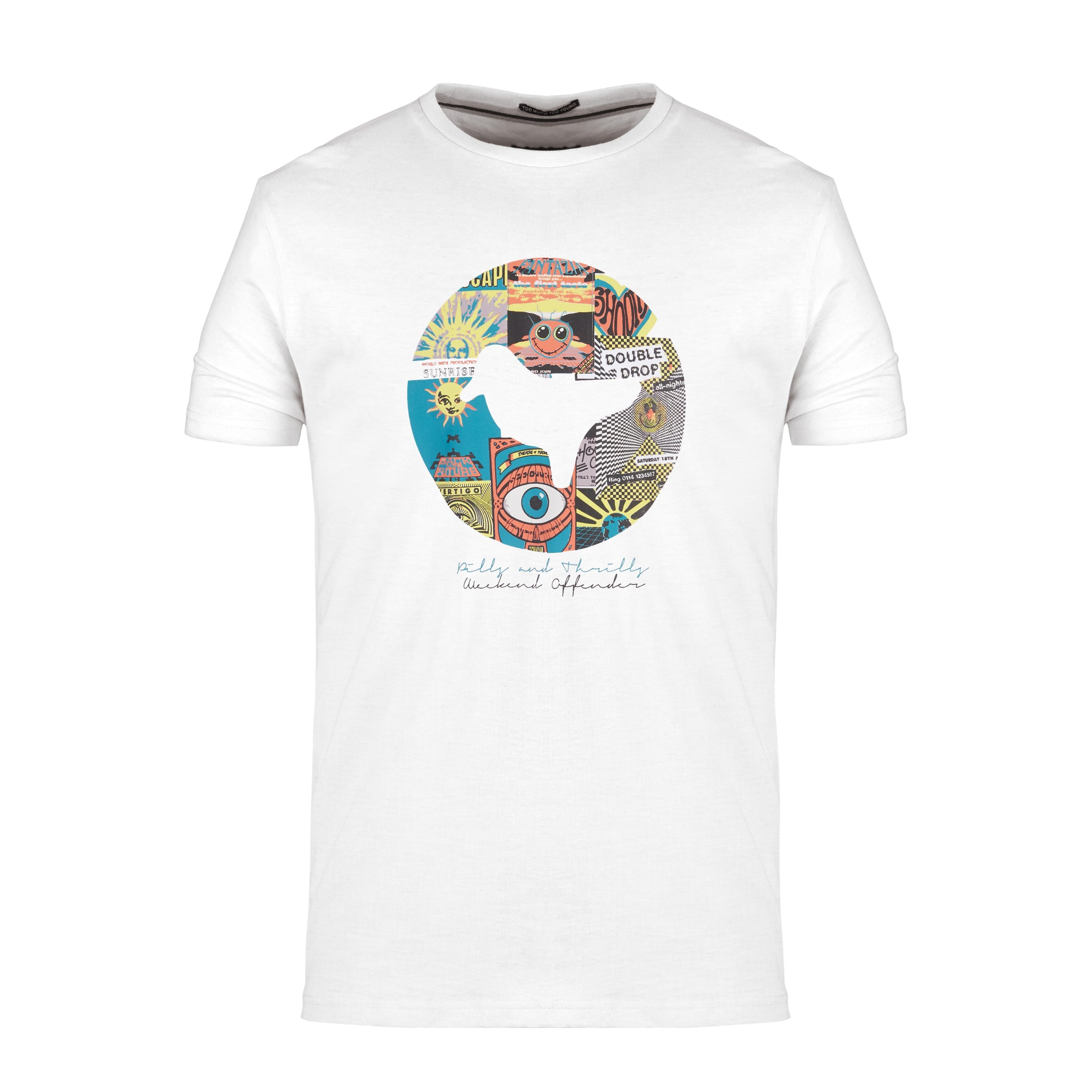 af86288ce Pills And Thrills Tee White – Weekend Offender
