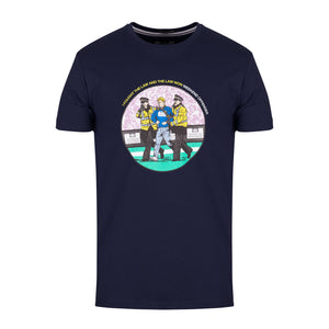 The Law Tee Navy