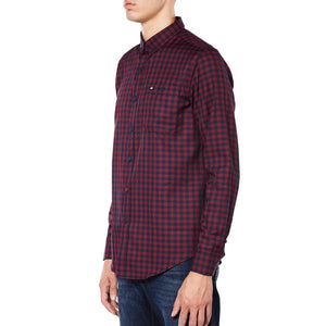 Walker Navy/Red Check