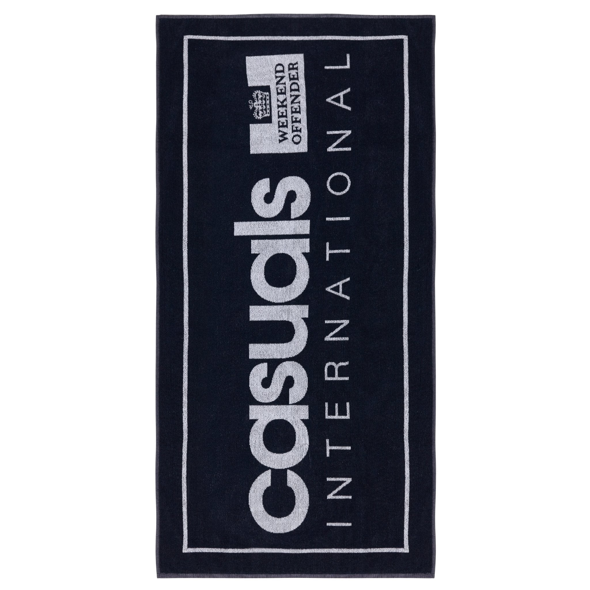 Casuals Towel Navy