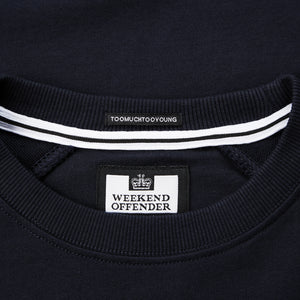 Badges Sweat Navy