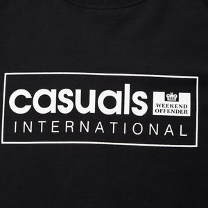 Casuals International Sweat Black