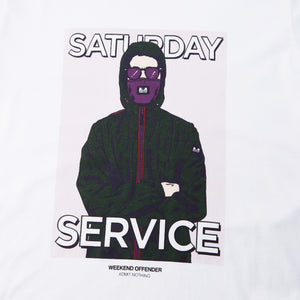 Saturday Service White