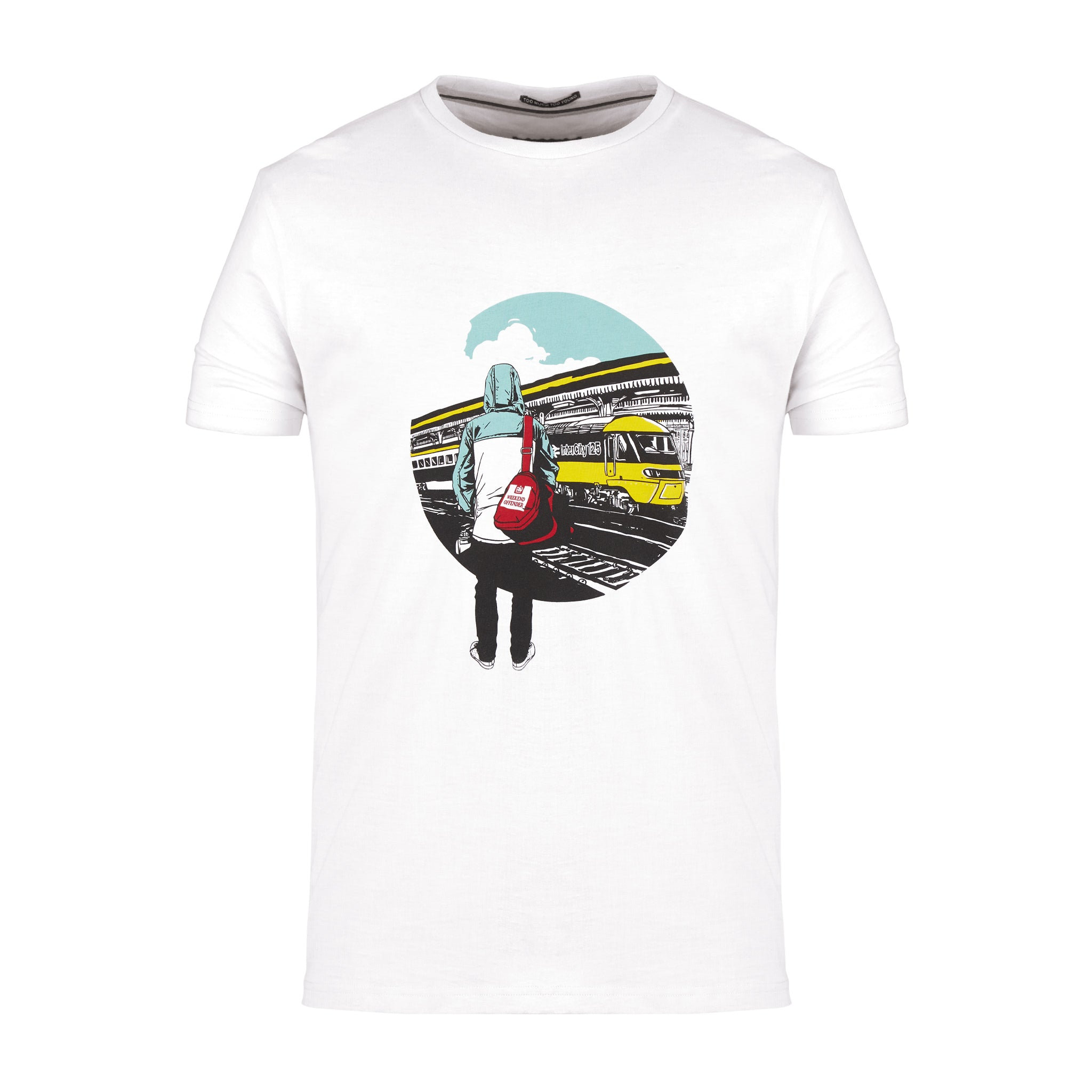 Away Days Tee White