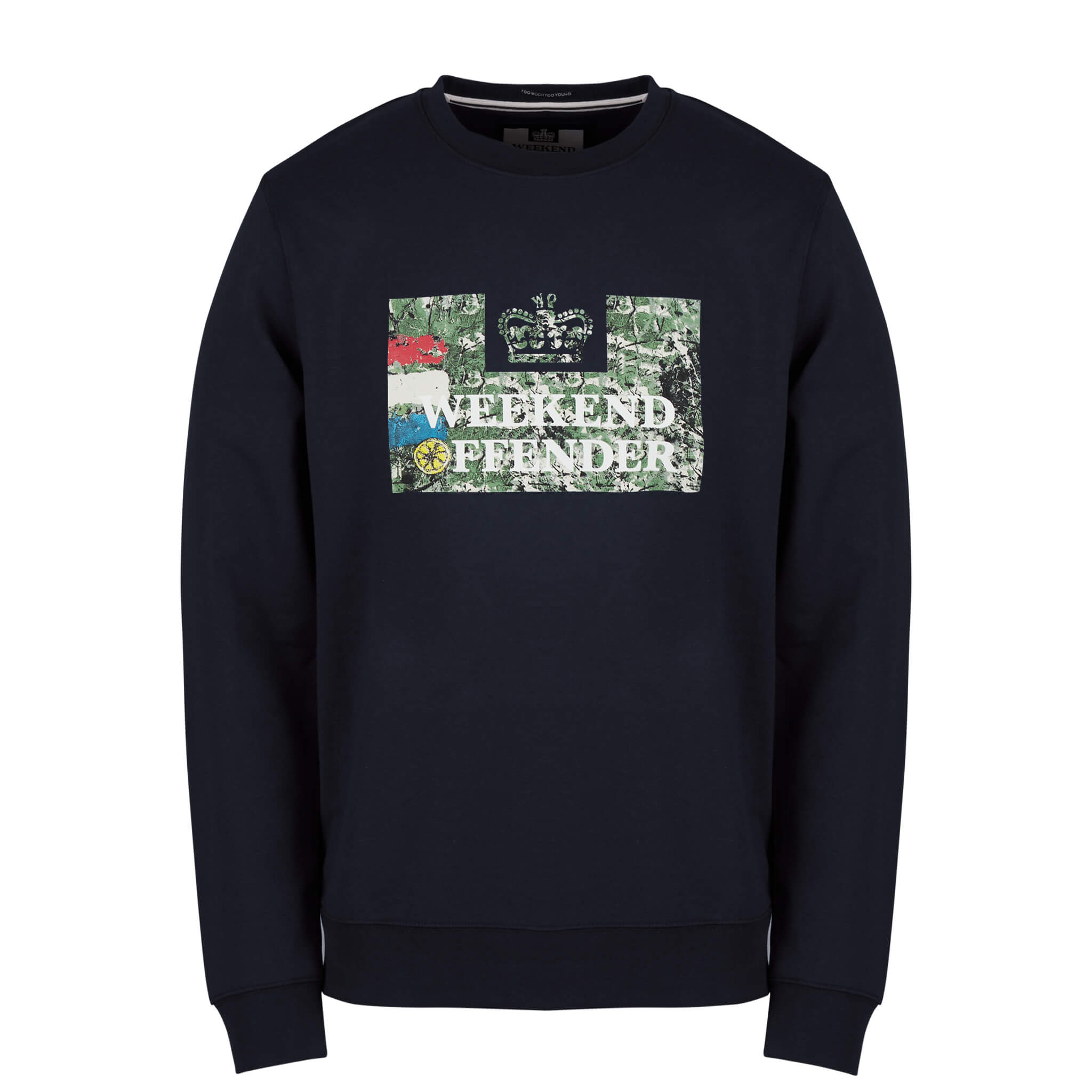 Badman-Sweat-Navy-XXXL