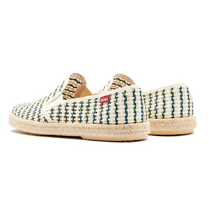 Veras Cadiz Rafia Green and Navy