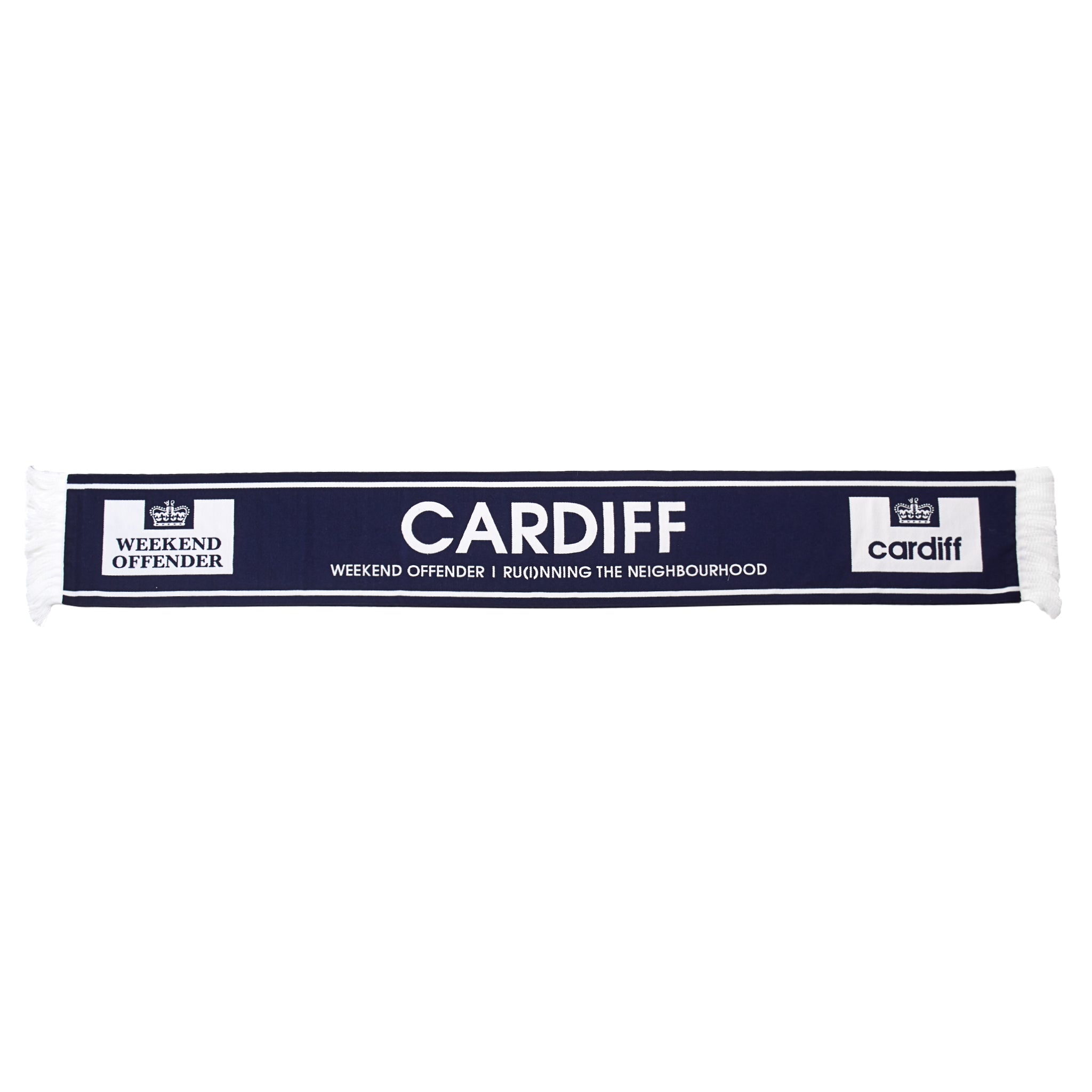 City Series 2 Cardiff Scarf Navy