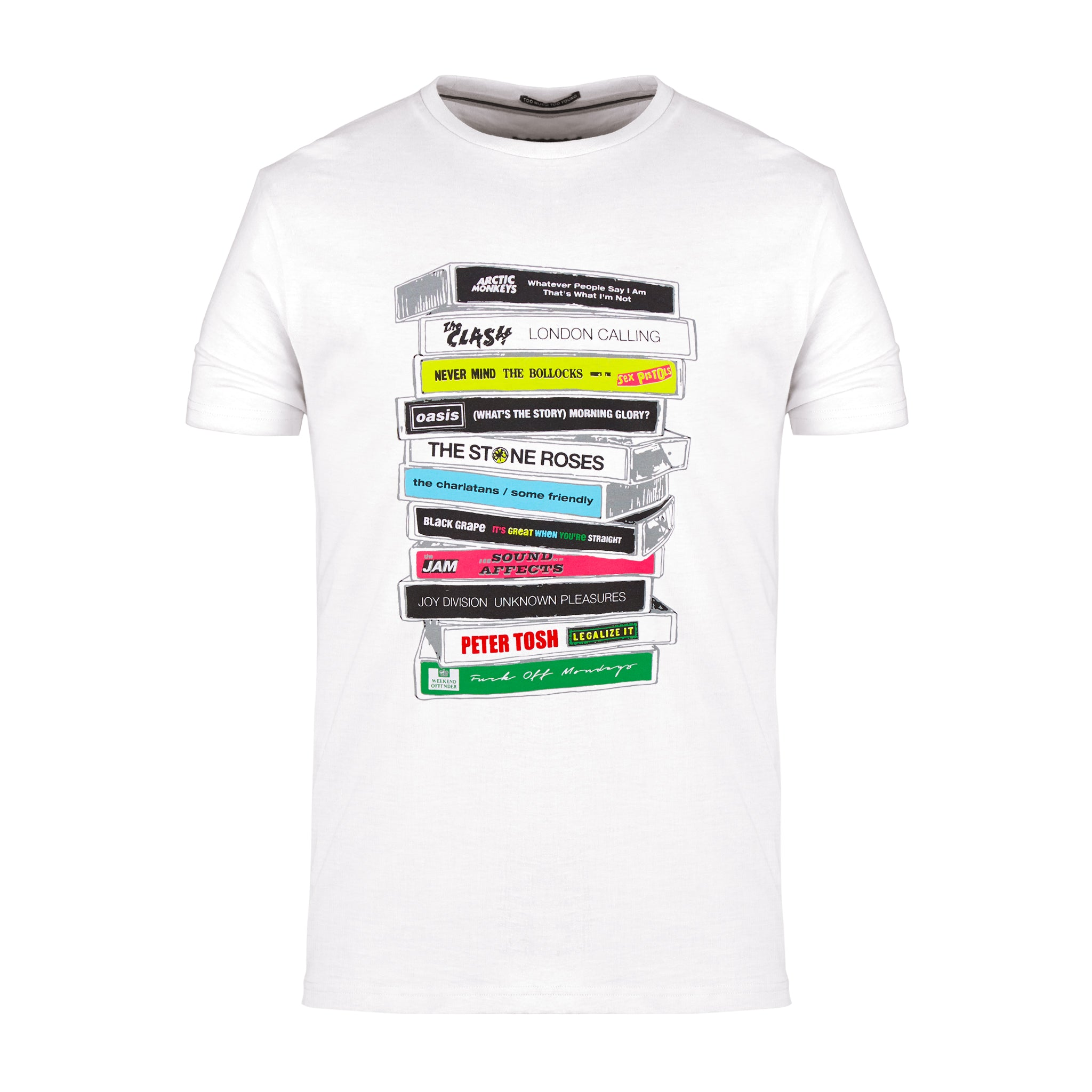 Cassettes Vol.2 Tee White