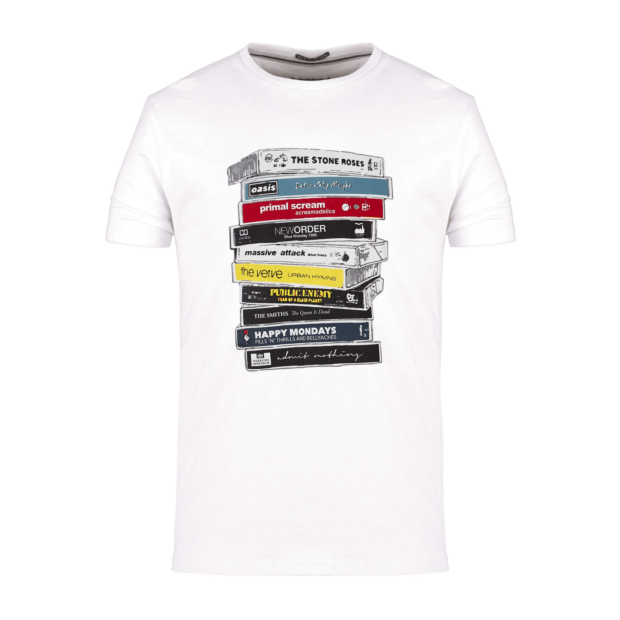 Cassettes Vol.1 Tee White