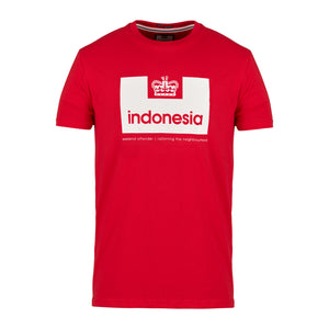 Country Series Indonesia Red