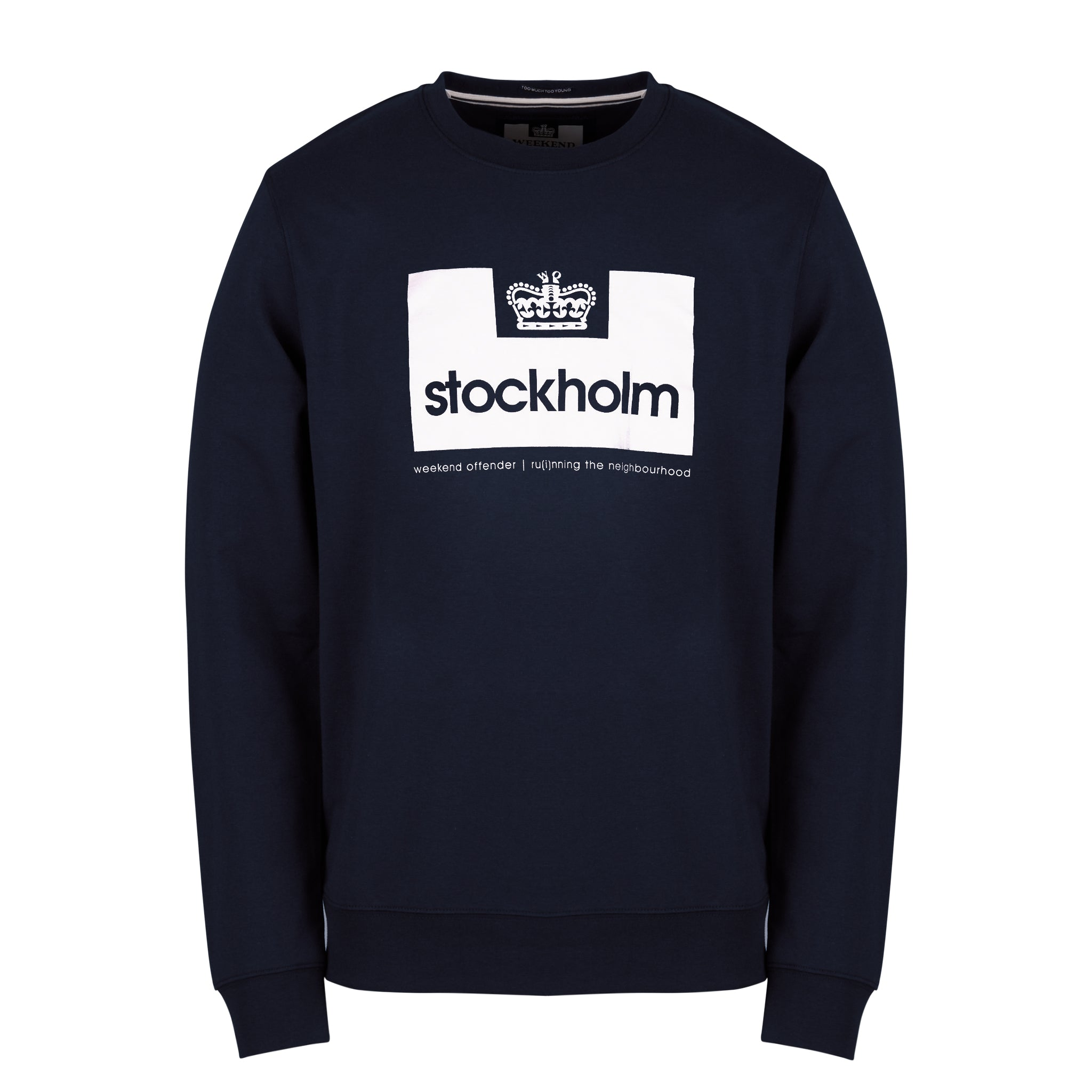 City Series 2 Stockholm Sweat Navy