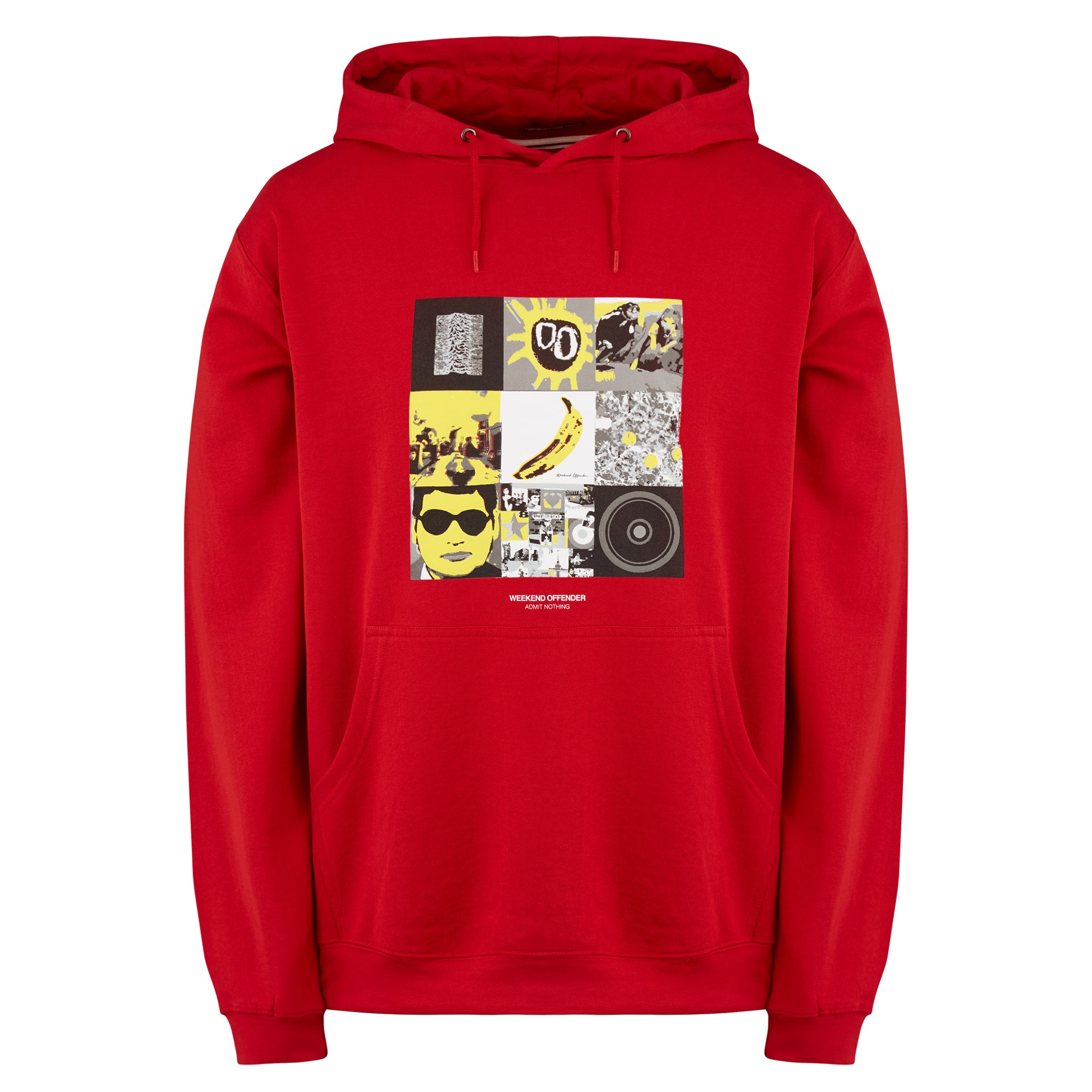 Album Covers Hoody Red