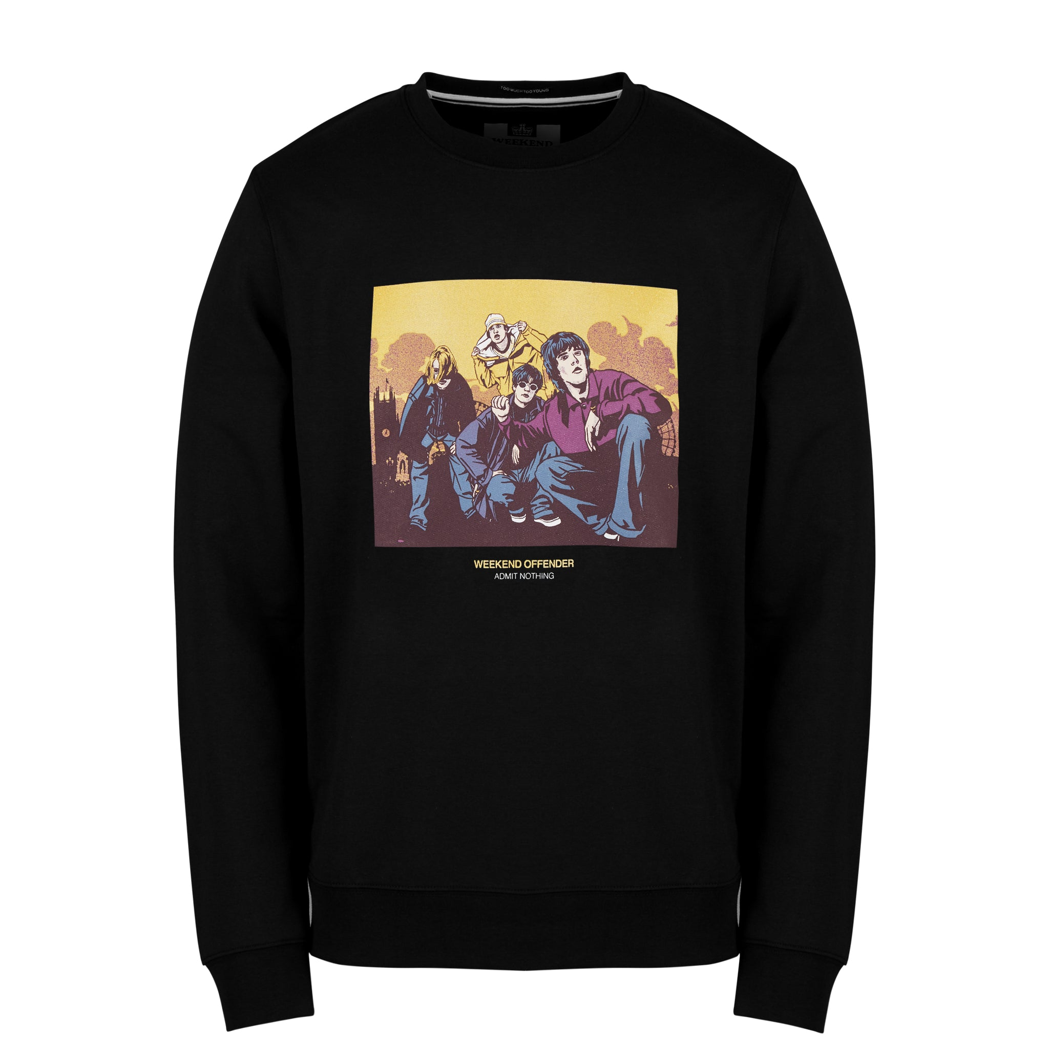 Fools Gold Sweat Black