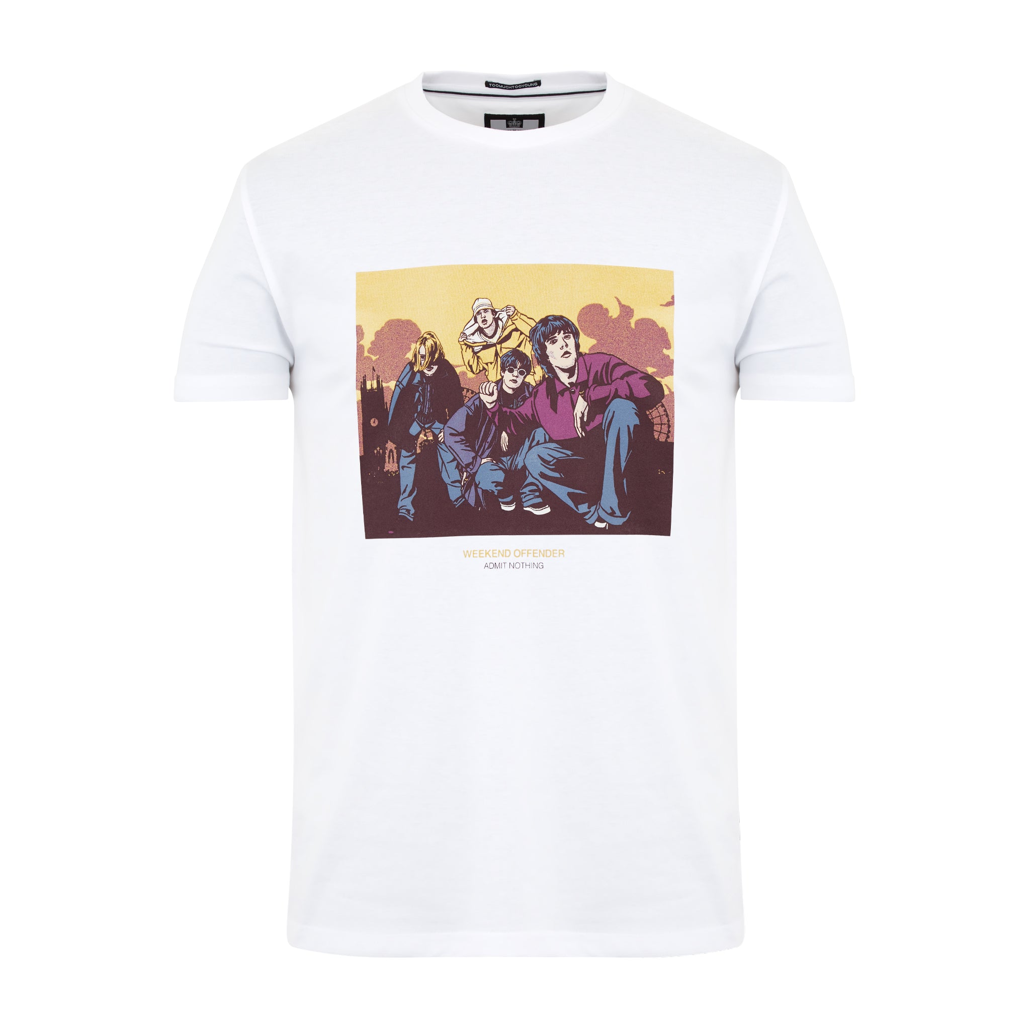 Fools Gold Tee White