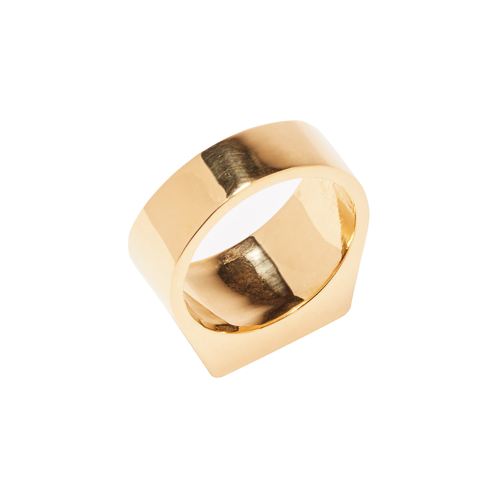 Signet Ring Solid Gold