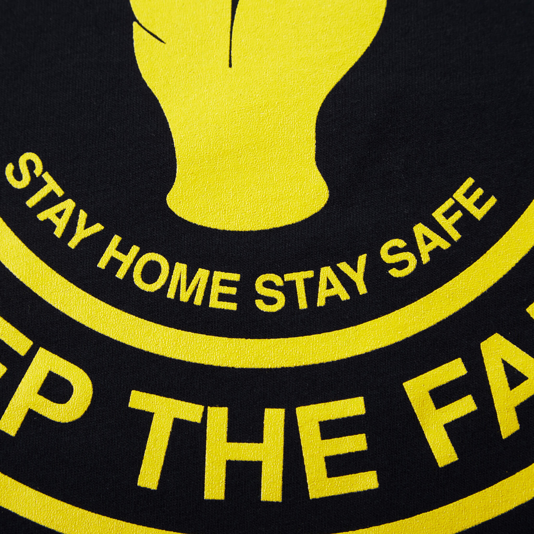 Keep The Faith Tee Navy/Yellow