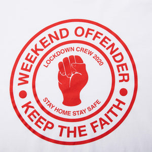Keep The Faith Tee White/Red