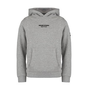 Kids WO Hoody Grey Marl