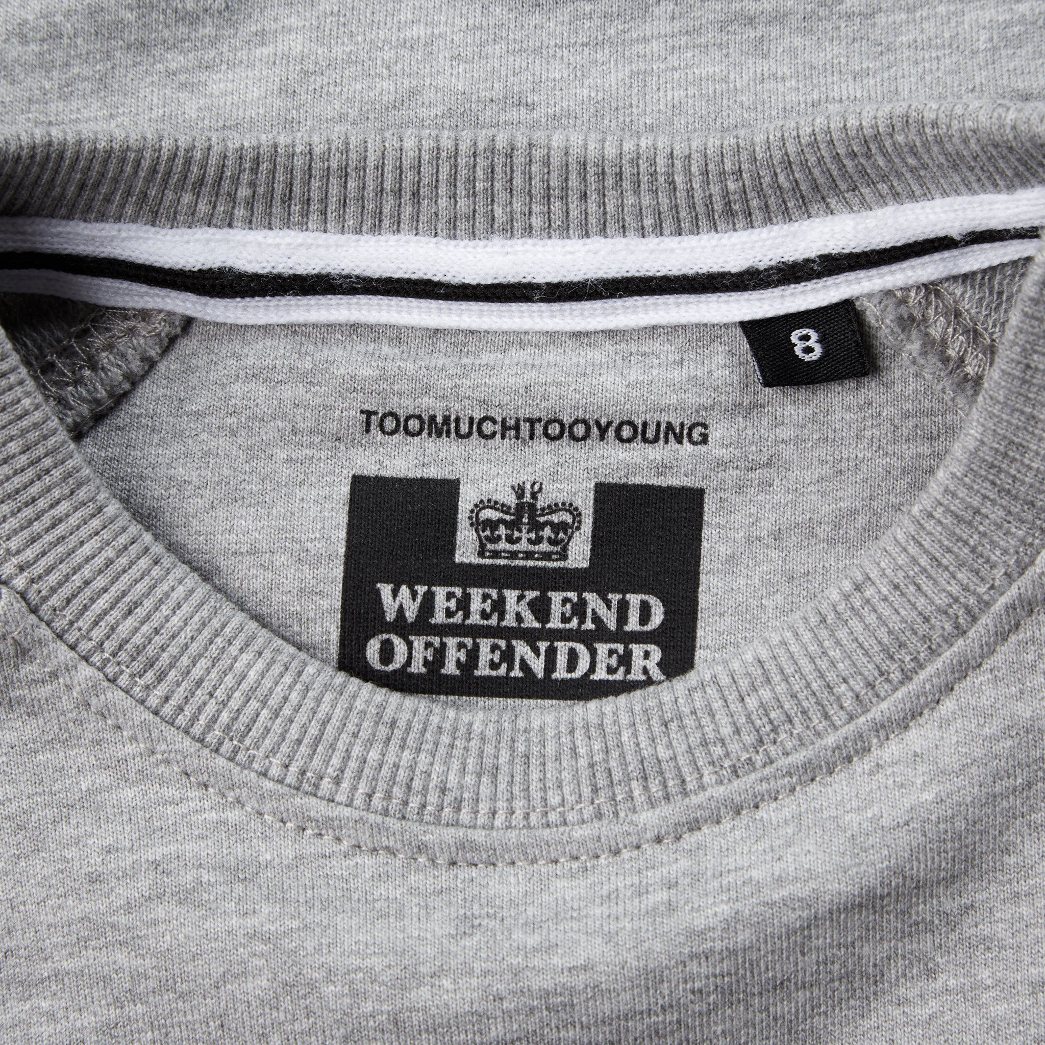 Kids Penitentiary AW20 Grey Marl