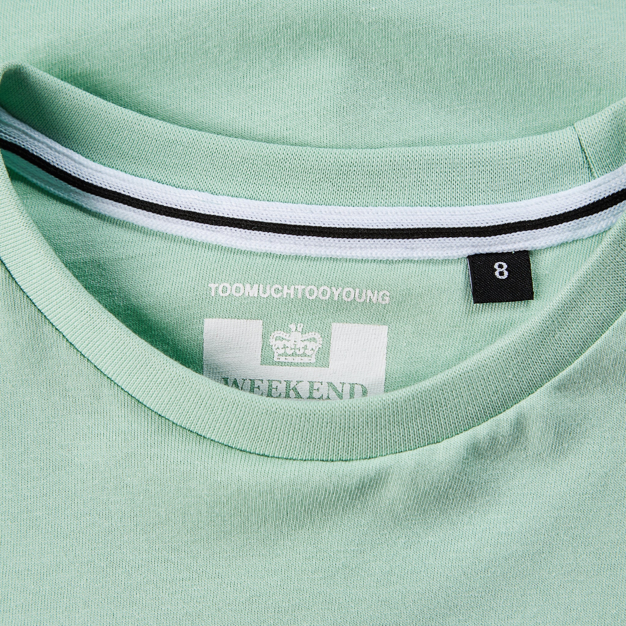Kids Badge Tee Mint